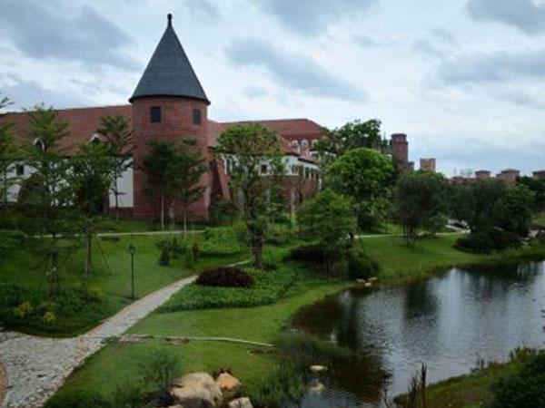 松山湖华为欧洲小镇